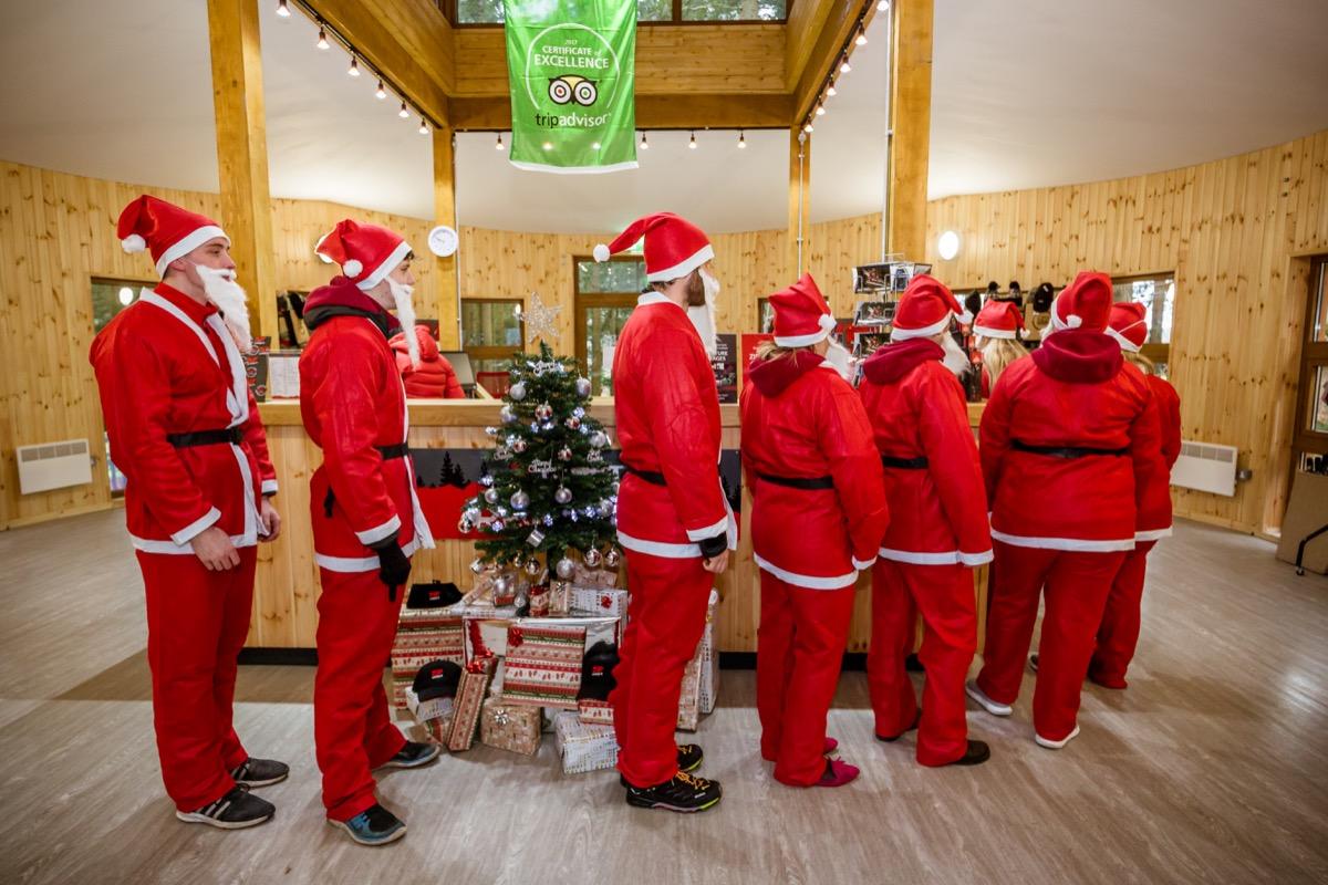 Santas at Fforest