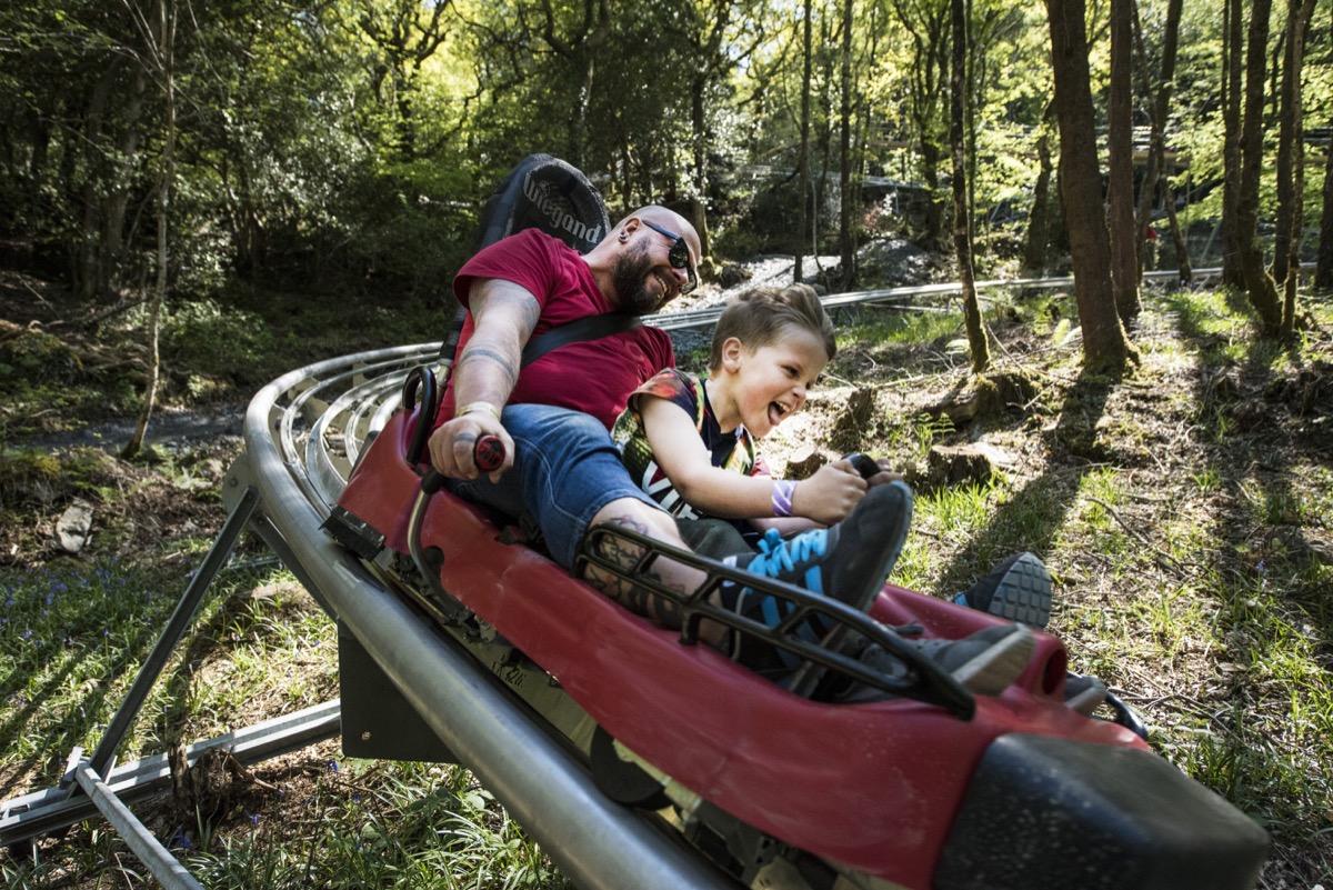 Adults And Kids Outdoor Activities Outdoor Activities Snowdonia Zip World